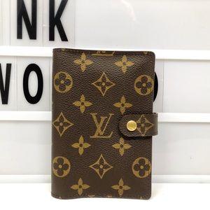 Louis Vuitton Monogram Agenda Cover PM small
